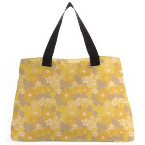 60s Flower Print Tote Bag