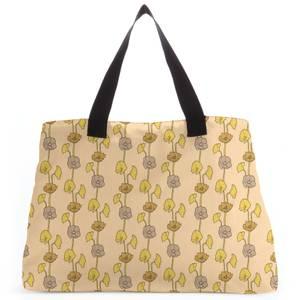 60s Light Flower Tote Bag