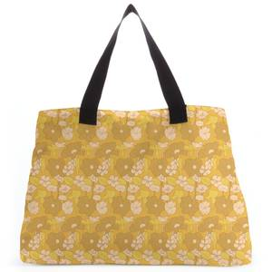 60s Floral Wallpaper Tote Bag
