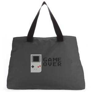 'Game Over' Graphic Tote Bag