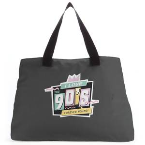I Love The 90's Graphic Tote Bag
