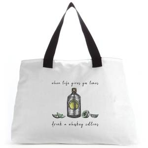 Whiskey Quote Tote Bag