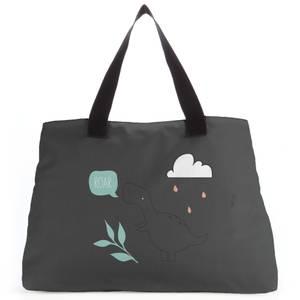 Roar Pastel Dino Tote Bag