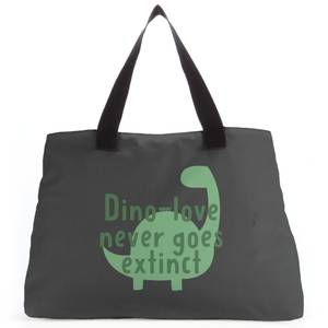 Dino-love Never Goes Extinct Tote Bag