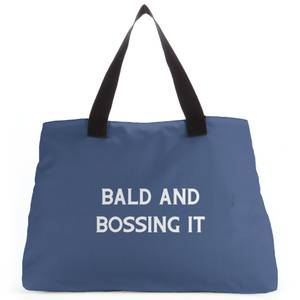 Bald And Bossing It Tote Bag