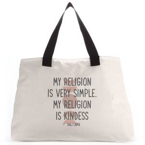My Religion Is Very Simple Tote Bag