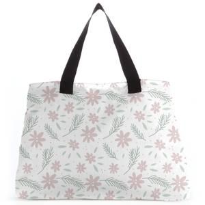 Neutral Floral Tote Bag
