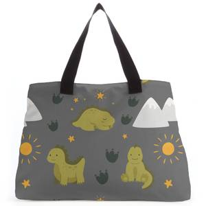 Green Dino Tote Bag