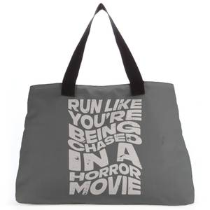 Run Like You're Being Chases In A Horror Movie Tote Bag