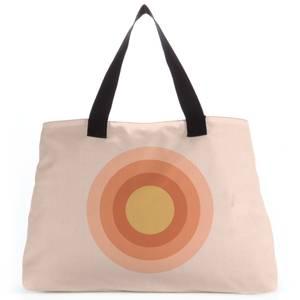 Summer Retro Rainbow Tote Bag