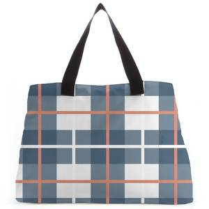 Tartan Mixed Tote Bag