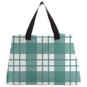 Tartan Green Tote Bag
