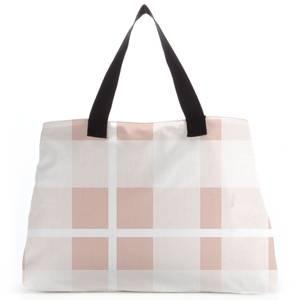 Plush Tartan Tote Bag