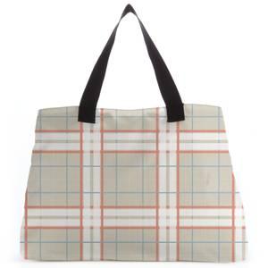 Artistic Tartan Tote Bag