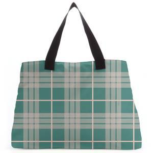 Home Tartan Tote Bag
