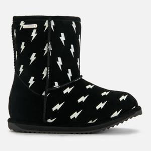 EMU Australia Kids' Lightning Bolt Brumby Waterproof Boots - Black