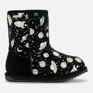 EMU Australia Kids' Outer Space Brumby Waterproof Boots - Black
