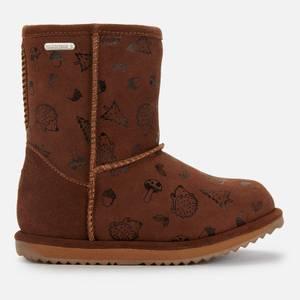 EMU Australia Kids' Woodland Brumby Waterproof Boots - Oak