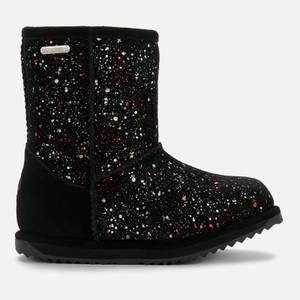 EMU Australia Kids' Galaxy Brumby Waterproof Boots - Black