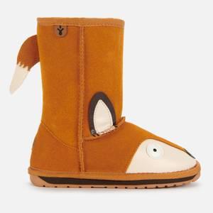 EMU Australia Kids' Little Creatures Fox Boots - Burnt Rust