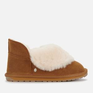 EMU Australia Kids' Mintaro Merino Wool Slippers - Chestnut