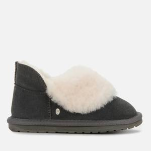 EMU Australia Kids' Mintaro Merino Wool Slippers - Charcoal