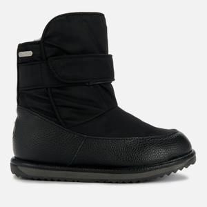 EMU Australia Kids' Roth Quilt Lined Boots - Black