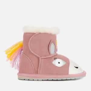 EMU Australia Toddlers' Magical Unicorn Walker Boots - Pale Pink