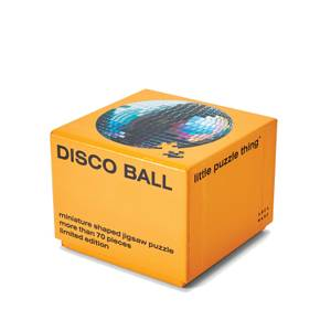 Areaware Little Puzzle Thing Series 3 Jigsaw - Disco Ball