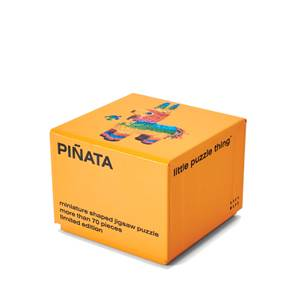 Areaware Little Puzzle Thing Series 3 Jigsaw - Piñata
