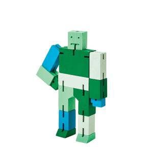 Areaware Cubebot Capsule Collection - Small - Green Multi