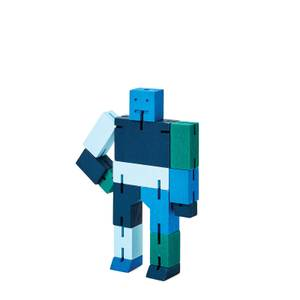 Areaware Cubebot Capsule Collection - Small - Blue Multi