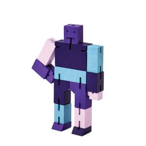 Areaware Cubebot Capsule Collection - Small - Purple Multi