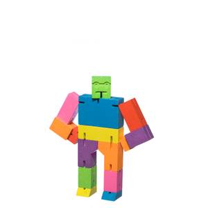 Areaware Cubebot Classic Collection - Small - Multi