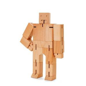Areaware Cubebot Classic Collection - Medium - Natural