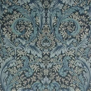Country Living Victoria Deep Blue Wallpaper