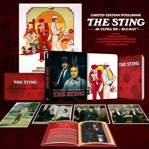The Sting - Zavvi Exclusive 4K Ultra HD Steelbook (Includes Blu-ray)