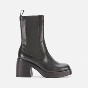 Vagabond Women's Brooke Leather Heeled Chelsea Boots - Black