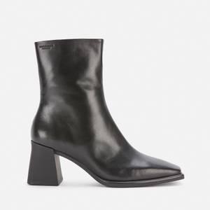 Vagabond Women's Hedda Leather Heeled Boots - Black