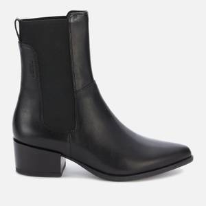 Vagabond Women's Marja Leather Western Boots - Black