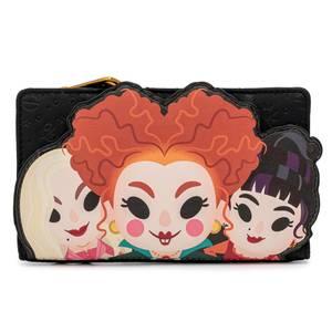 Loungefly Disney Hocus Pocus Sanderson Sisters Flap Wallet