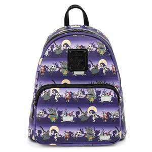 Loungefly Disney Nbc Halloween Line Mini Backpack