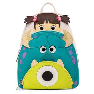 Loungefly Pixar Monsters Inc Boo Mike Sully Cosplay Mini Backpack