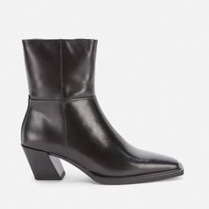 Vagabond Women's Alina Leather Heeled Boots - Black