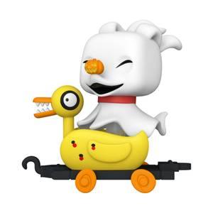 Nightmare Before Christmas Zero in Duck Cart Funko Pop! Train