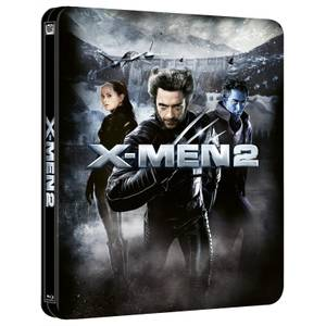 X-Men 2 - Steelbook Lenticulaire 4K Ultra HD (Blu-ray inclus) Exclusivité Zavvi