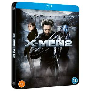 X-Men 2 - Steelbook Blu-ray Lenticulaire Exclusivité Zavvi