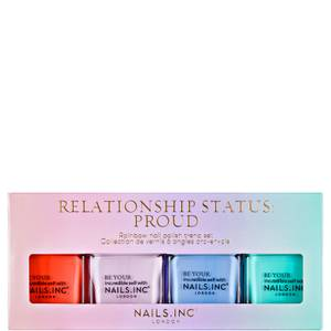 nails inc. Relationship Status Proud Quad Set