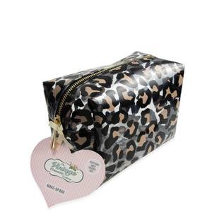 The Vintage Cosmetic Company Makeup Bag - Leopard Print