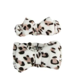 The Vintage Cosmetic Company Little Darling and Me Headbands - Leopard Print